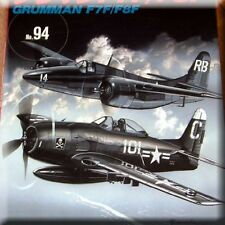 Aircraft Book USA Grumman F7F F8F Bearcat Tigercat WW2 Navy Airforce Pacific War
