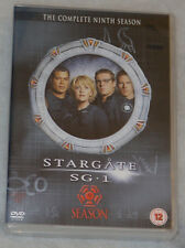 Stargate SG-1 Season 9 Nine Complete DVD Box Set - BRAND NEW SEALED UK Region 2