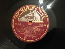 "Vocal Gems from the THEATRE GUILD'S Production ""OKLAHOMA"" 78rpm 12"" C3595 VG"