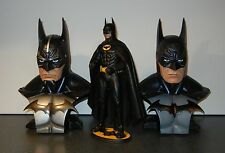 2 Custom 1/2  Legendary scale Batman Busts Arkham Asylum Dark Knight Sideshow
