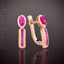 Ohrringe mit Rubinen Korund Gold 585° ORB38635