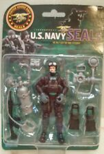 U.S. Navy Seals  action figure 3.75 inch with scuba accessories New in box