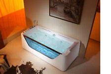 JETTED BATHTUB ,Whirlpool & Air Massage, waterfall ,Heater.6 Years USA Warranty