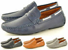 Men's Perforated Casual Penny Loafer Slip on Driving Shoes Avail. UK Size 6-11