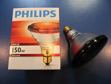 Philips PAR38 IR Red 150W 230V E27 Infrared lamp Warming lamp Infrared Spotlight