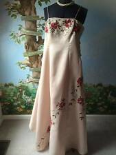 City Triangles Beige Prom Evening Party Gown Back Drape SZ 11