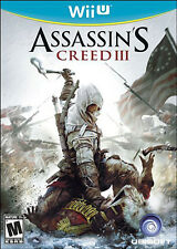 Assassin s Creed (3) III New Nintendo Wii U
