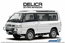 Aoshima 52334 The Model Car 27 Mitsubishi P35W Delica Star Wagon '91 1/24 scale