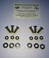 Land Rover Defender 90 &110 Stainless Steel Allen Key Bonnet Hinge Kit