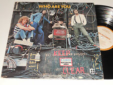 THE WHO Who Are You NM- MCA-3050 Pete Townsend Roger Daltrey No Bar Code