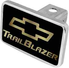 New Chevrolet Trailblazer Gold Word/Gold Logo Hitch Cover