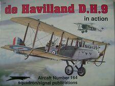 de Havilland D.H.9 in Action No. 1164 -- Squadron/Signal Publications - WWI