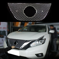 Honeycomb Net Grill Mesh For Nissan Murano 2014-2016 Stainless Steel Decoration