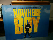 NOWHERE BOY 102 x 76CM MOVIE FILM PREMIER BILLBOARD CARD POSTER - SIGNED!