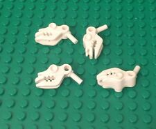 LEGO X4 Pieces New White Cow Skull with Bar 1L Part #13695 ~~no Horn~~