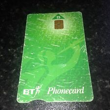 BRITISH TELECOM PHONECARD BT PHONE CARD £5 COLLECTABLE Valid Until 12/2002