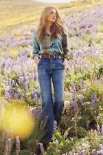 New $288 Anthropologie Citizens of Humanity Irina Ultra High-Rise Flare Jeans 27