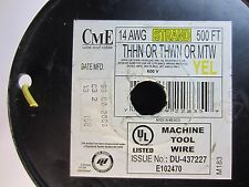 189 Ft. 14 AWG Stranded Copper Wire  600V THHN THWN MTW, Yellow Color