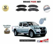 FOR GREAT WALL STEED 5 2.0 DT PICKUP 2012-  FRONT BRAKE DISC PADS SET