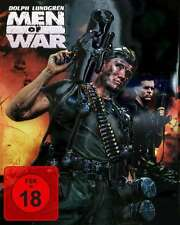Dolph Lundgren MEN OF WAR  3D FUTURE PACK Uncut Steelbook limited BLURAY DVD Box