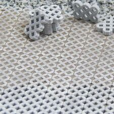 Vollmer 48740 Straßenplatte Kopfsteinpflaster Spur 0 3 Stück L54xB16cm