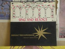 DON JANSE CHORALE, SING AND REJOICE VOL 2 - SESAC LP R 1903/04