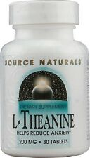 Source Naturals L-Theanine 200mg - 30 tab