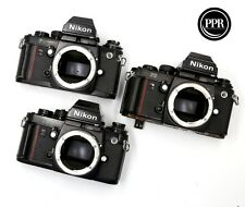 Lot of Three Nikon F3 HP Camera Bodies FOR PARTS REPAIR
