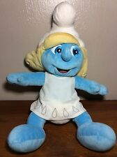 "Build a Bear Smurfette W/ Dress 17"" Plush She Is The Smurfiest!"