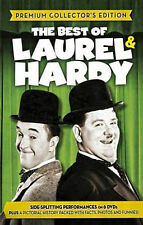 Laurel and Hardy (DVD, 2013, 6-Disc Set) GENTLY USED IN SHRINKWRAP