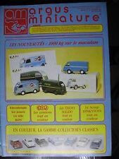 ARGUS DE LA MINIATURE 128 COLLECTORS CLASSICS TEKNO CIJ 4CV RENAULT KDN SIKU