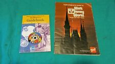 Unique GAF Film WDW Complete Guide 1976 & American Express WDW Guide @2000