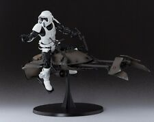 S.H.Figuarts Star Wars SCOUT TROOPER & SPEEDER BIKE Action Figure BANDAI NEW