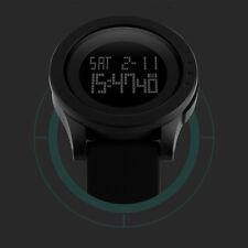 Hombre Impermeable Relojes De Pulsera Cuarzo Analógico Reloj LED Digital Nuevo v