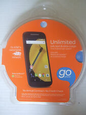 Brand NEW Sealed Motorola Moto E PREPAID AT&T GO PHONE 4G LTE 5MP