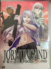DVD Jormungand Episode 1-12 End with Eng sub + Free Shipping