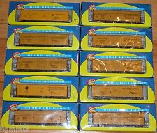 LOT OF 10 HO ATHEARN FGE 50' MECHANICAL REEFER YOUNGSTOWN PD SUPERIOR BOXCAR