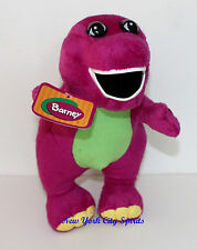 "Barney Plush Singing "" I Love You"" Song 12 Inches with Flashing Light"