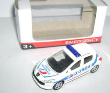 Norev Minijet Emergency Peugeot 308 Police Brand new. 3 inches