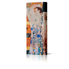 "Gustav Klimt Mother & Child Large 16x8"" Framed Canvas Wall Art Picture Print"