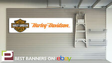 HARLEY DAVIDSON WORKSHOP GARAGE BANNER PVC SIGN Iron XL883N, sportster, 1200