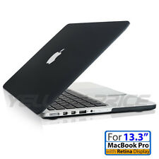 For Macbook Pro w/Retina 13.3'' 13'' Rubberized Hard Case Shell+Keyboard Cover