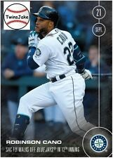 Topps NOW 487: Robinson Cano Sac Fly Walks Off Blue Jays in 12 Inning