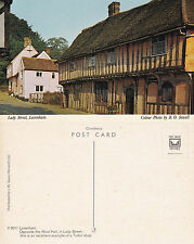 1960's LADY STREET LAVENHAM SUFFOLK UNUSED COLOUR POSTCARD