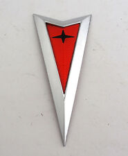 2008 2009 Pontiac G8 GT GXP Front Arrow Emblem Bumper 08-09 CHROME Arrowhead