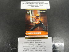 2016/17 CRICKET TAP N PLAY GOLD CARD NO.160 ASHTON TURNER PERTH SCORCHERS