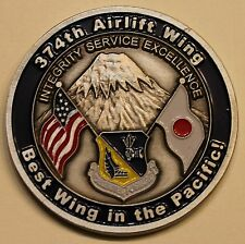347th Airlift Wing Professional Development Center Air Force Challenge Coin