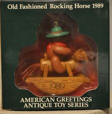 American Greetings - Old Fashioned Rocking Horse - Classic Toy