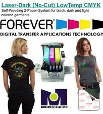 Heat Transfer Paper Forever For Laser Printer Dark and Light T Shirts 25 sh A+B