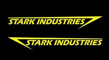 2 x Stark Industries, pegatinas, Iron Man sticker